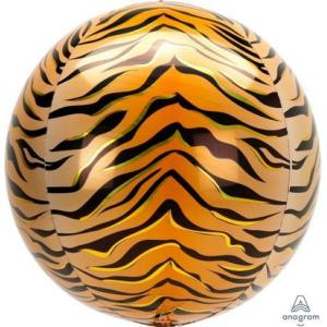 Tiger Print Orb Balloon