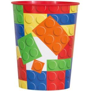 Building Blocks Plastic Cup