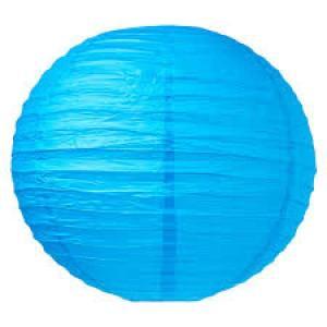 Sky Blue Wired Lantern 20cm