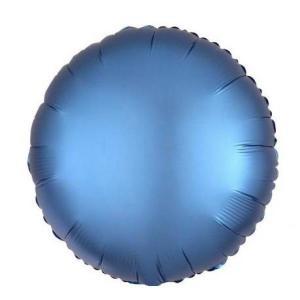 Satin Luxe Azure Circle Foil Balloon 18inch