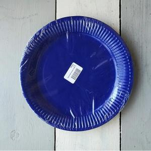 Royal Blue Paper Plates (10)
