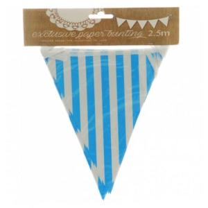 Sky Blue Striped Bunting