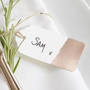 Beautiful Botanics Rose Gold Dipped Tags (10)