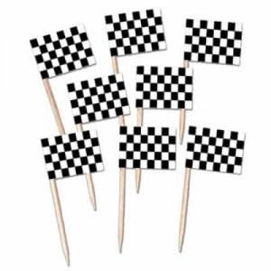 Racing Checks Cupcake picks (50)