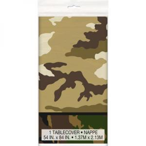 Camo Military Table Cover