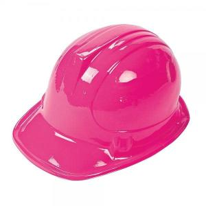 Construction Helmet Soft Plastic PINK