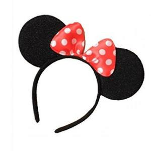 Minnie Mouse Aliceband With Bow