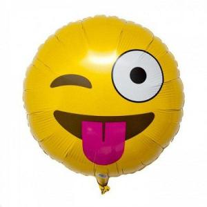 Emoji Tongue balloon