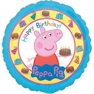 Peppa Pig 18 Inch Happy Birthday Balloon