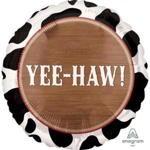 Yee Haw Howdy Foil Balloon 17inch