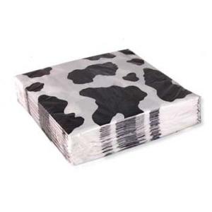 Cow Print Napkins(16)