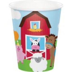Farmhouse Fun Paper Cups (8)