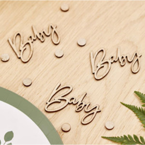 Botanical Baby Table Confetti