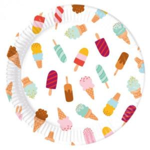 Ice Cream Passion Paper Plates (8)