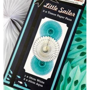 Little Sailor Paper Fans(3)