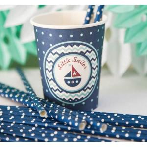 Little Sailor Paper Straws (25)