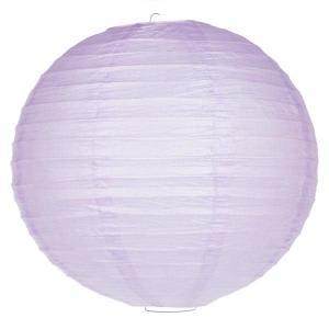 Lavender Wired Lantern 25cm