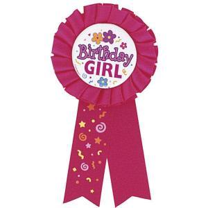 Birthday Girl Rosette