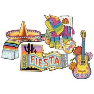 Fiesta Cut Out Wall Decor
