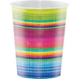Mexican Serape Cups (8)