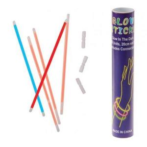 Glow Sticks Tube of 50 with connectors