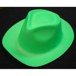 Neon Green Plastic Hat