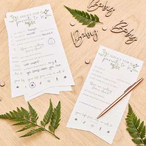 Botanical Baby Advice For The Parents Cards (10)