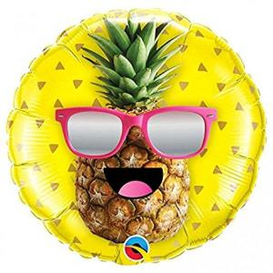 Cool Pineapple Foil Balloon 18 inch