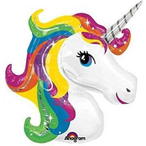 Unicorn Rainbow Foil Balloon