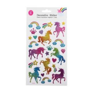 Unicorn Glitter Stickers
