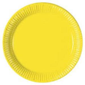Yellow Paper Plates (10)