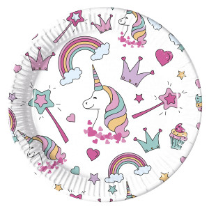 Magic Unicorns Plates (8)