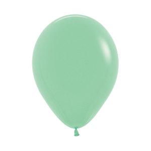Mint Green Latex Balloons (5)