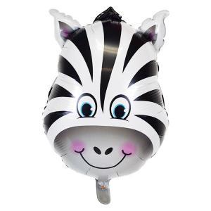 Zebra Foil Balloon