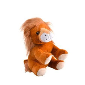 Animal Jungle Plush Lion 15cm