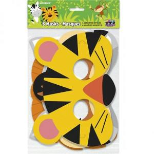 Animal Jungle Paper Masks (8)