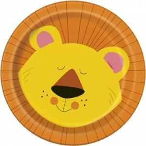 Animal Jungle Paper Plates Small (8)
