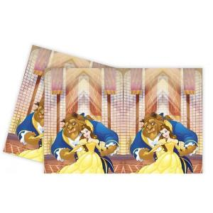 Beauty & The Beast Plastic Tablecover