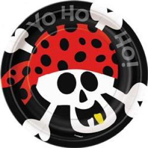 Pirate Fun Paper Plates Small (8)