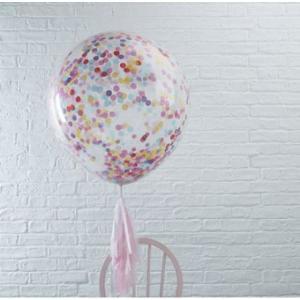 Pick & Mix Confetti Balloons Huge Multicolour (3)