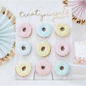 Pick & Mix - Donut Wall Gold Treat Yourself
