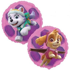 Pink Paw Patrol Skye and Everest Foil Balloon 17 Inch