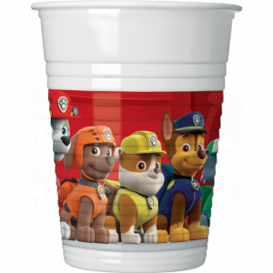 Paw Patrol Ready for Action Plastic Cups (8)
