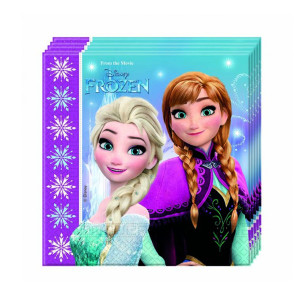 Frozen Northern Lights Napkins (20)