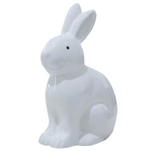 White Ceramic Medium Bunny