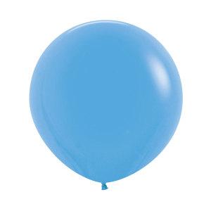 Blue 24 inch latex balloon (60cm)