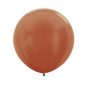 Copper 24 inch latex balloon (60cm)
