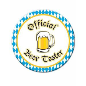 Oktober Fest Beer Tester Badge