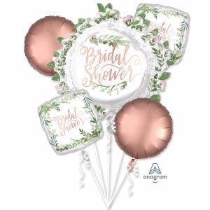 Bridal Shower Floral Balloon Bouquet