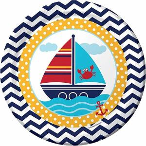 Nautical Theme Paper Plates (8)